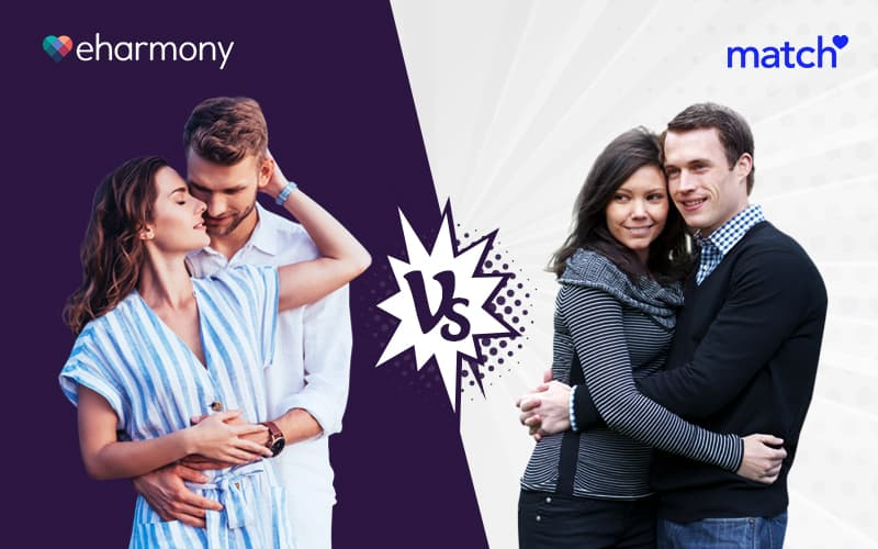 eharmony vs match dating sites comparison